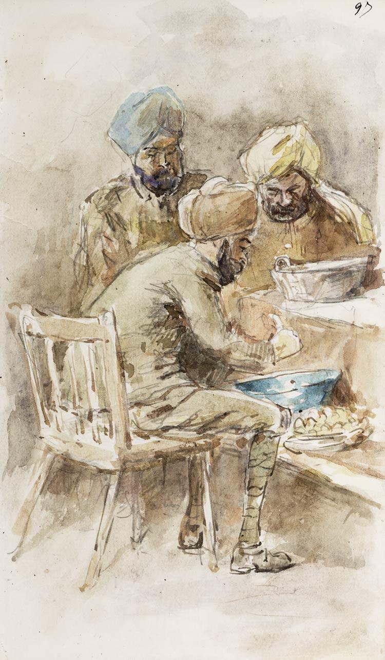 Sikhs in firmleu hall okt 18