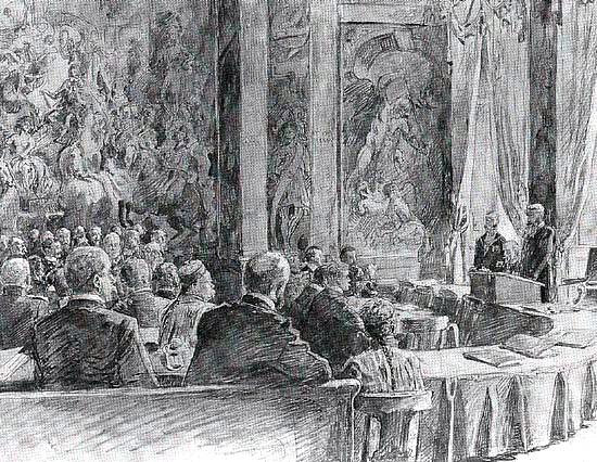 eerste vredesconf