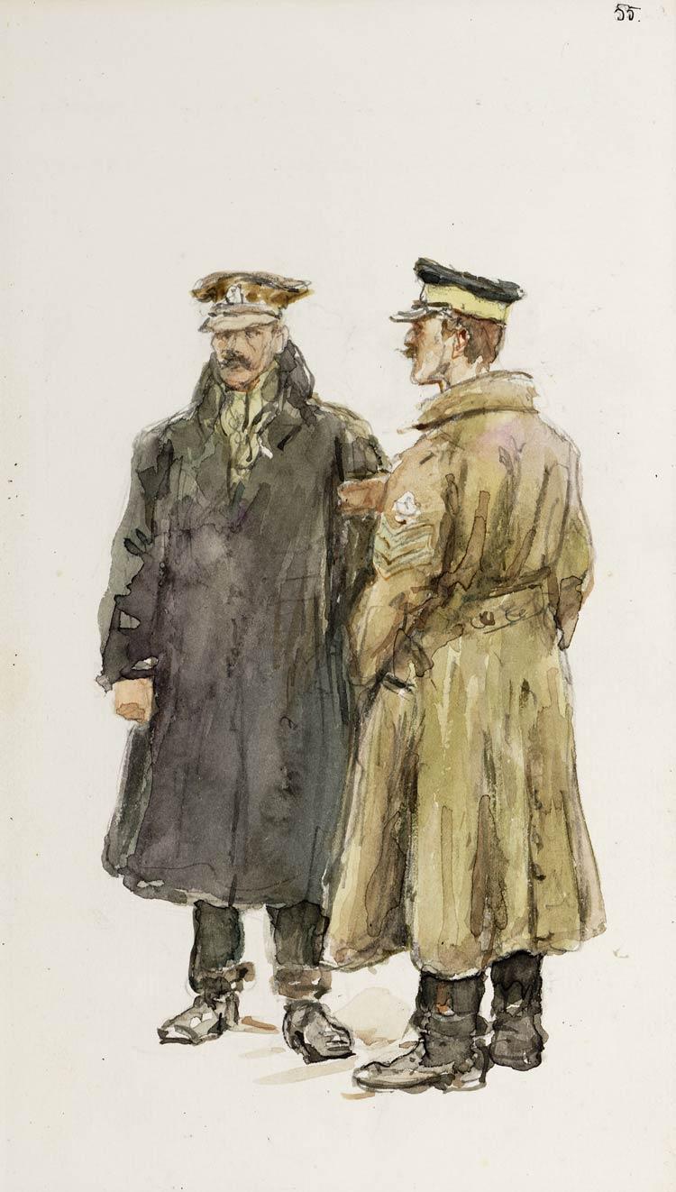 eng uitgewisselden krijgsgevangenen dec 1917