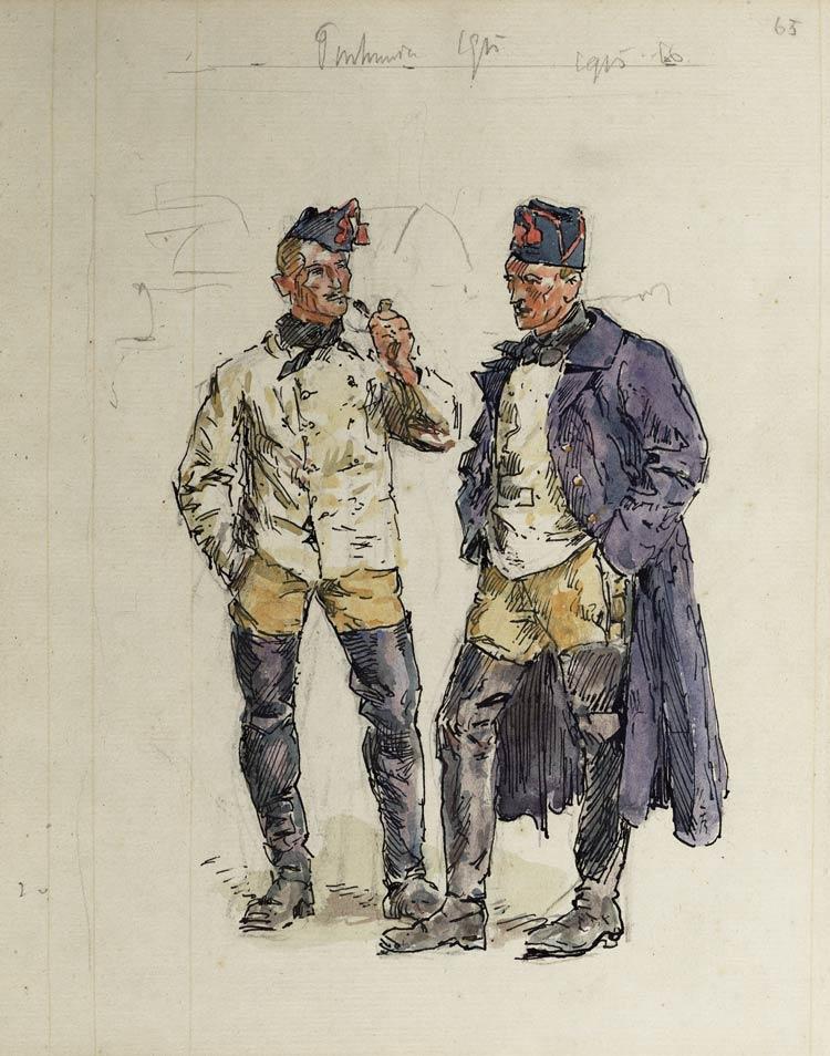pontonniers 1915