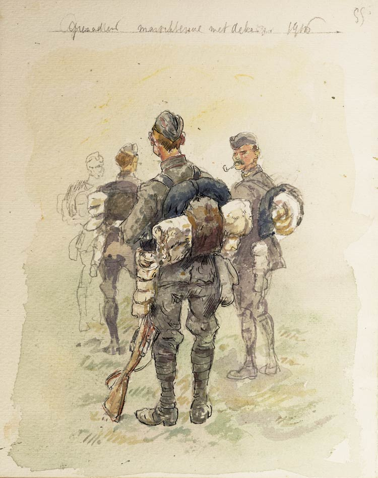 nl grenadiers 1916